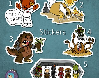 Star Wars Geeky Stickers