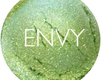 Envy Mineral Eyeshadow • Vegan  And  Gluten Free Makeup • Mineral Makeup • Earth Mineral Cosmetics