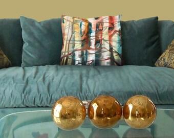 Home decor pillow cover, fall pillow, lake house pillow, autumn pillow cover, holiday pillow cover, fall pillow cover, thanksgiving pillow