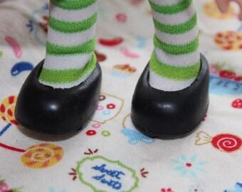 Strawberry Shortcake doll Black Slip On shoes