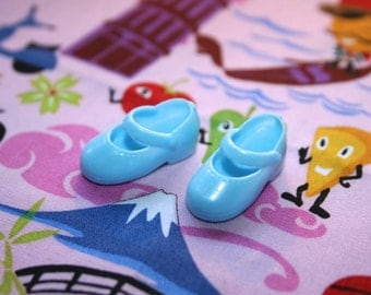 Blythe Light Blue Cute Mary Jane shoes