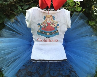 Goldilocks Tutu Costume - Goldilocks Tutu Dress
