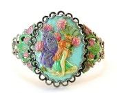 Fairy Cuff Bracelet, Faye, Faery, Pixie, Sprite Jewelry