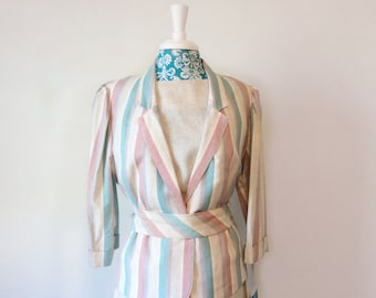 vintage 1980s dress suit // Spring Summer career chic // chic Nos nwt xxl xl