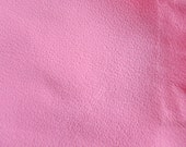 Faux Leather Fabric in Lambskin Pattern - Baby Pink - Large Fat Quarter - Vegan Leather