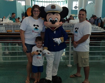 Custom Personalized Disney Cruise Shirt