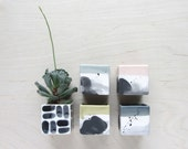 Small Square Ceramic Planter - Made to Order
