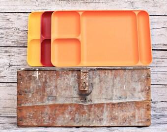 Citrus Cafeteria Trays