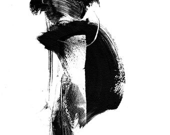 Black and white abstract. Giclee print - multiple sizes. Limited to 200 printings.