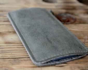 Galaxy S8, Galaxy S8+ Leather Sleeve - RINGO, Organic Leather