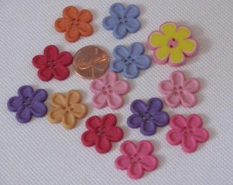 Flower Buttons-Destashing Buttons-Flower Buttons