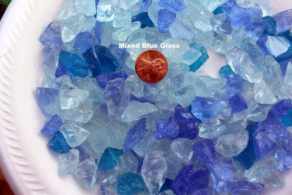 Crushed GlassWedding vase fillers4 to 10 mm pieces per