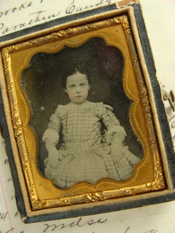 Antique Daguerreotype Photos in Stunning Unattached Union Case