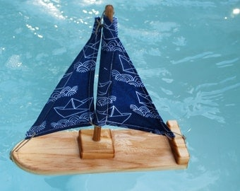 Ahoy Matey Toy Sailboat