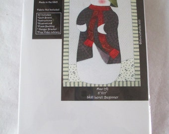 Max Snowman Artsi2 Quilt Boards - No Sew - DIY - Wallhanging