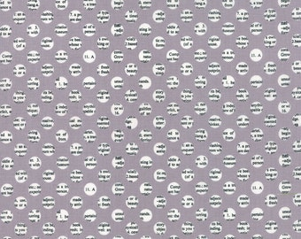 SUMMER SALE - Holly's Tree Farm - 1 yard -  Gumdrops in Graphite - 5586-16 by Sweetwater for Moda Fabrics