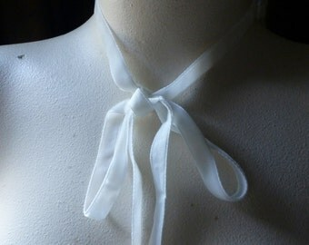 3 yds. Ivory Velvet Ribbon  made in ITALY for Bridal, Costumes, Millinery, Couture, Floral Supply VL