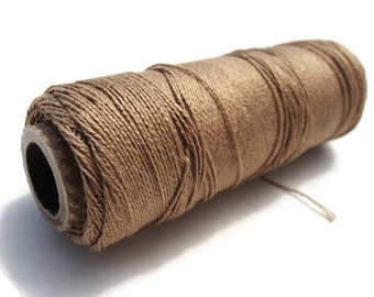 Beige Tan Macrame Bamboo Cord 0.7mm - 10 meters / 32.8 ft