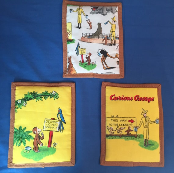 Curious george zoo wall hangings pictures by for Curious george wall mural