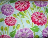 Michael Miller Fun Quilting Cotton   44 in by the yard Zinnias