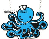 Octopus necklace Sailor by Dolly Cool Super cute and Kawaii