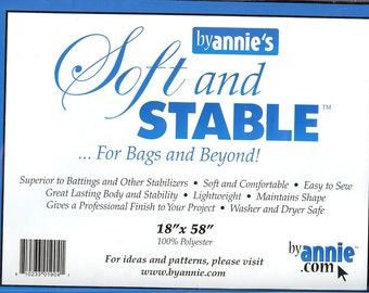 """Soft and Stable by Annie's - 18"""" x 58"""" - black"""