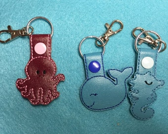Under the Sea Key Chain