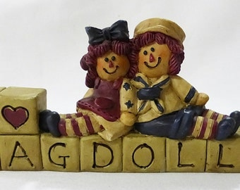 I Love ragdolls sign by suzi resin table decor