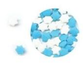Mini Star of David Kosher Heart Confetti Sprinkles (4 ounces) 1/4 pound