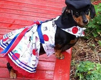 French Costume for the Hollywood Movie Wiener Dog Internationals