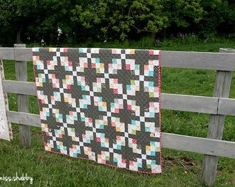 Gingersnap Pattern #104 PAPER quilt pattern