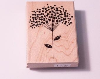 Penny Black Polka-Dot Sprig 4304H flower stamp