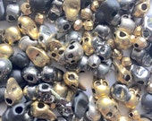 Destash 160+ pieces of Skull Metal Spacer Beads - Insurance Included
