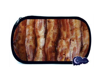 Sizzling Bacon Cosmetic Bag