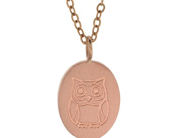 Rose Gold Jewelry Custom Logo Design Gold Chain Necklace Engraved 14K Gold Personalized Signature Jewelry Engraved Artwork Jewlery