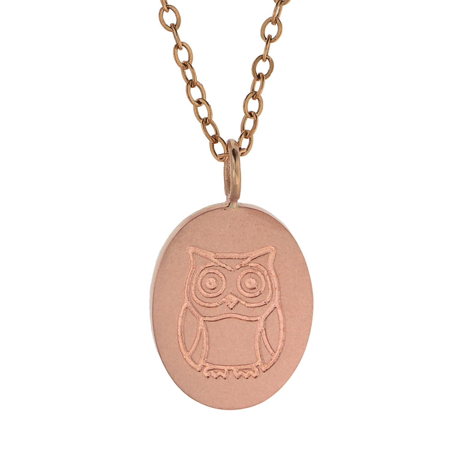 Rose gold jewelry custom logo design gold chain necklace for Rose gold personalized jewelry