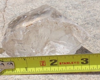 Reduced Price/Rock Crystal Facet grade 1/2 pound chunch of rough/ flawless speicmen