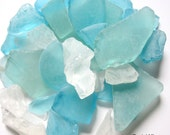 Beach Decor Sea Glass - Nautical Decor Beach Glass in PASTEL MIX -  2 POUNDS
