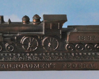 1887 Train Bank Railroadmen's Federal Savings & Loan. Indianapolis