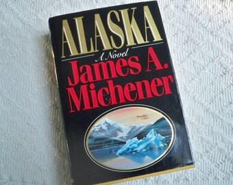 "Vintage Book Fiction ""Alaska"" by James A. Mitchener 1988"