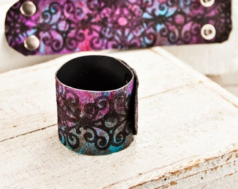 Boho Bracelets Cuffs Unique 2016 Art Finds - Gypsy Women's Wrist Cuffs - Valentine's Day