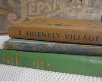Vintage School Book Collection