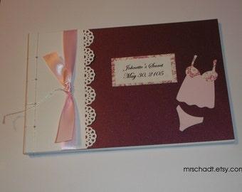Lingerie Guest Book Album (MTO)
