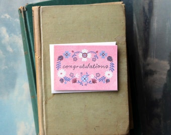 Congratulations Eva // Enclosure Card // Fawnsberg Stationery
