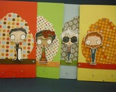 Van Gogh, Dali, Warhol, or Khalo Card (dots) - you choose