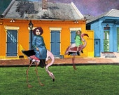 New Orleans WONDERLAND Flamingo Race
