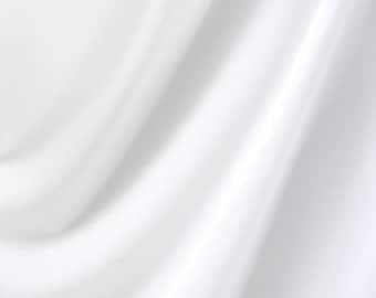 White Spandex Fabric