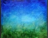 Ocean Deep 2 - 30 x 30 - Abstract Acrylic Painting on Canvas - Fine Wall Art- Original Painting -