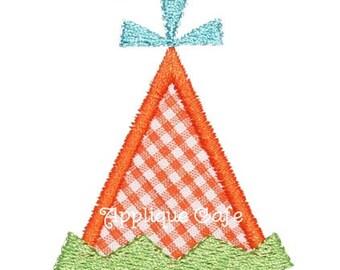 287 Mini/Add a Birthday Hat Machine Embroidery Applique Design