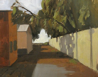 Mare Island, CA - original oil painting (LD 60)